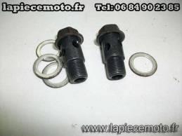 Vis pour raccord bandjo de radiateur à huile SUZUKI 650 SV K7 ABS