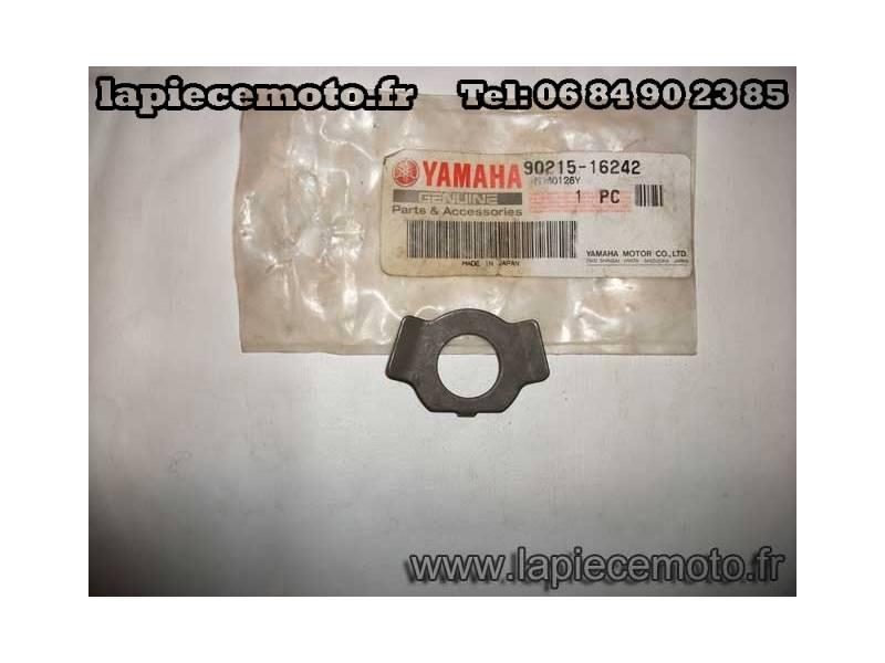 Rondelle frein d'ecrou de pignon de balancier d'equilibrage pour XT 600 - TT 600 - SRX 600 (Référence origine: 90215-16242-00)