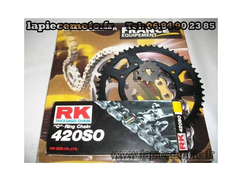 Kit chaine France Equipement Aprilia 50 RX