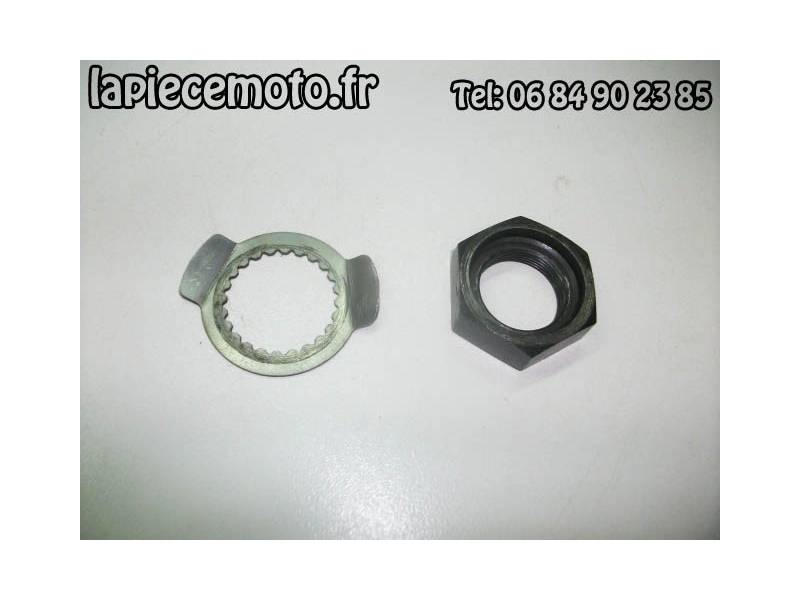 Ecrou d'embrayage + rondelle frein YAMAHA R1 RN014