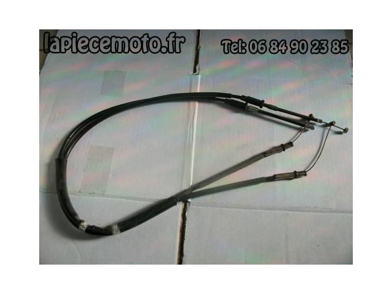 Jeu de cables de poulie d'échappement YAMAHA R1 RN014